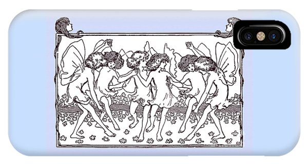 Dancing Fairies From 1896 IPhone Case