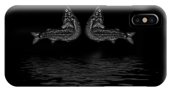 Dancing Fish At Night 2 IPhone Case