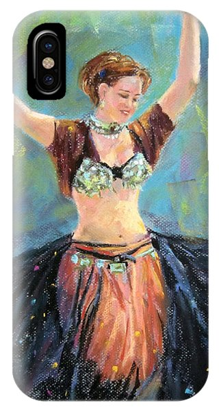 Dancing In The Air IPhone Case