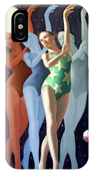 IPhone Case featuring the painting Dancing In The Moonlight by Anthony Falbo