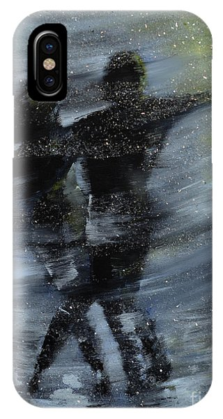 Dancing In The Night Phone Case by Roni Ruth Palmer