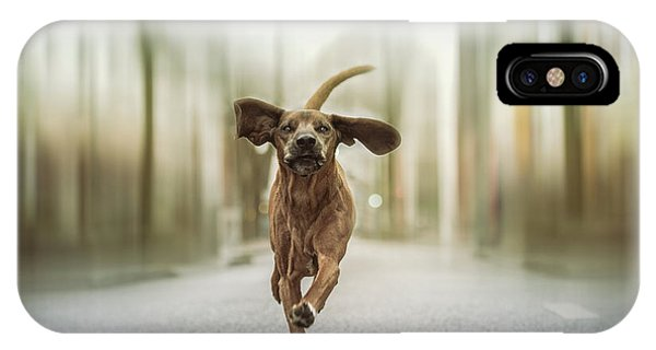 Humor iPhone Case - Dancing In The Streets by Heike Willers