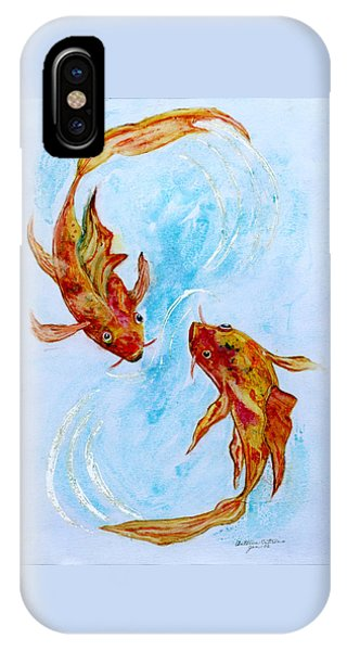 Dancing Koi Sold IPhone Case