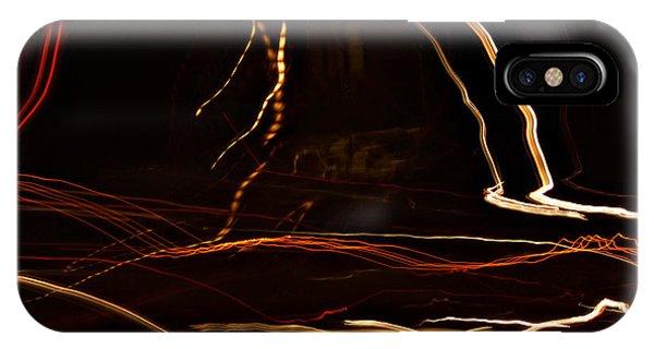 La-405 Dancing Lights IPhone Case