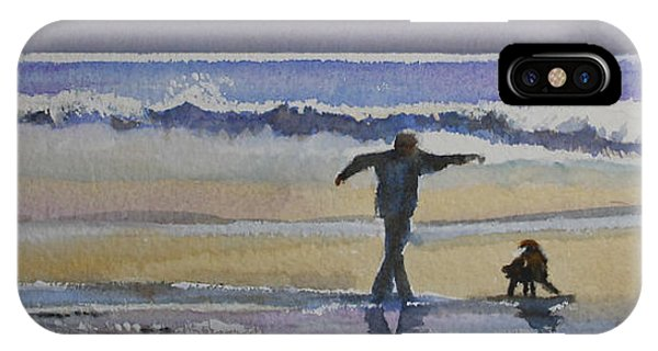 Dancing On The Beach IPhone Case
