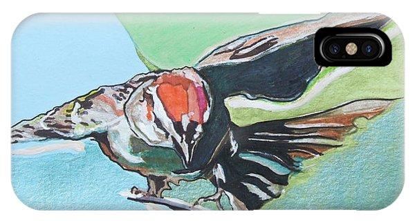 Dancing Sparrow IPhone Case