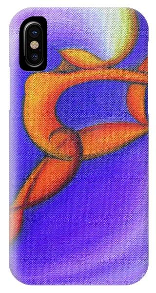 Dancing Sprite In Purple And Orange IPhone Case