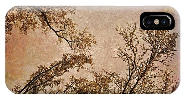 IPhone Case featuring the photograph Dancing Trees by Carol Whaley Addassi