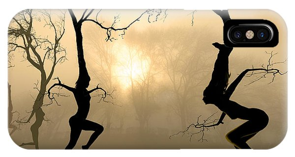Fairy iPhone Case - Dancing Trees by Igor Zenin