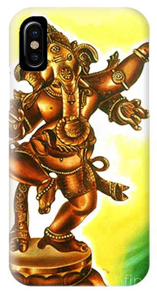 Dancing Vinayaga IPhone Case