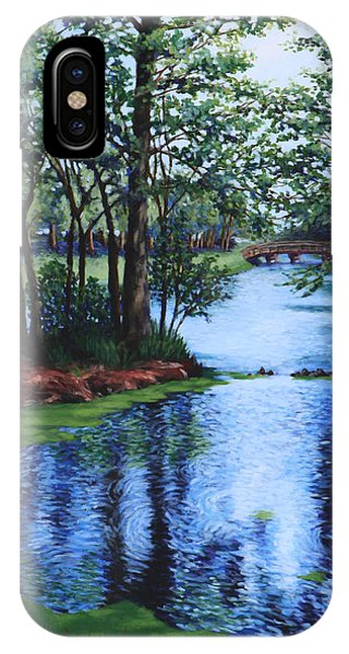 Dancing Waters IPhone Case