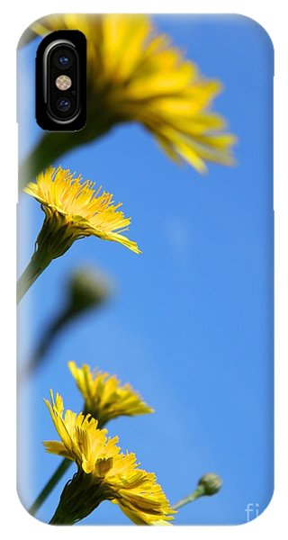 Dancing With The Flowers IPhone Case