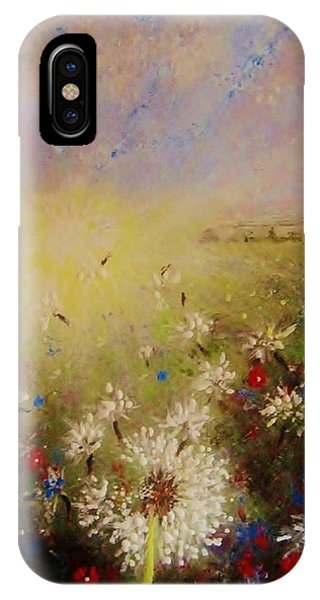 Dancing With The Sun... IPhone Case