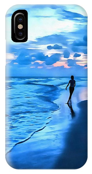 Dancing With The Waves IPhone Case