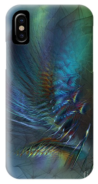 Dancing With The Wind-abstract Art IPhone Case