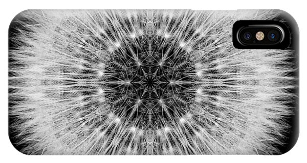 Dandelion Head Flower Mandala IPhone Case