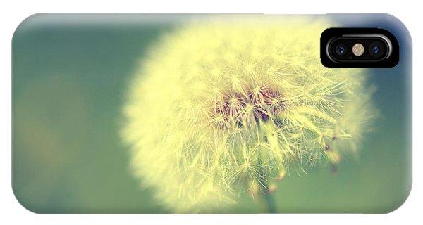 Dandelion Seed Head IPhone Case