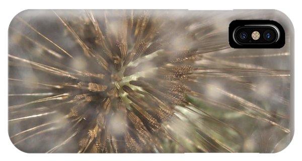 Dandillion Seed Head IPhone Case
