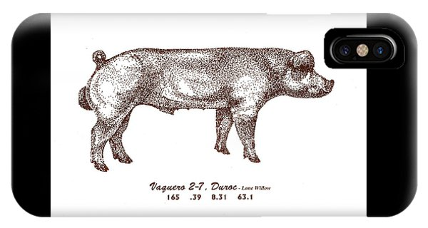Danish Duroc IPhone Case