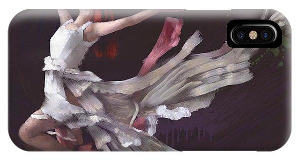 Dans L'air IPhone Case