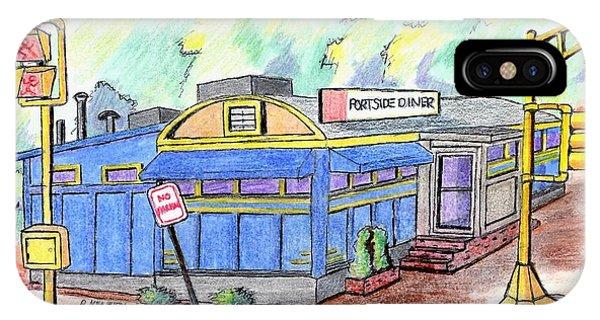 Danvers Port Diner IPhone Case