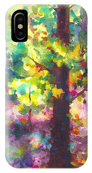 Dappled - Light Through Tree Canopy IPhone Case