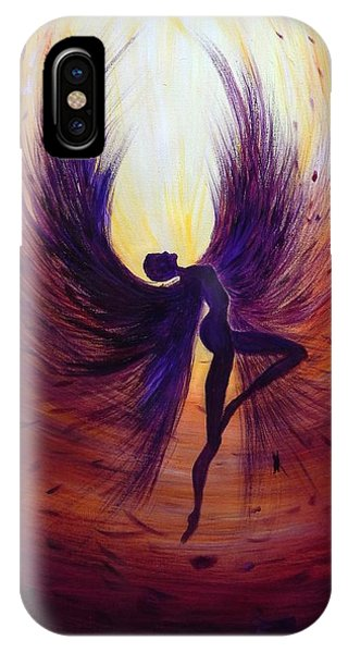 Dark Angel IPhone Case