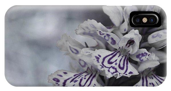 Dark Angel Of Flowers IPhone Case