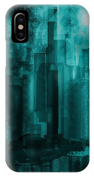 Dark City IPhone Case