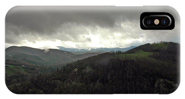 Dark Clouds Over Cashiers IPhone Case