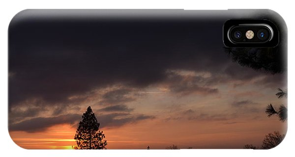 Dark Clouds IPhone Case