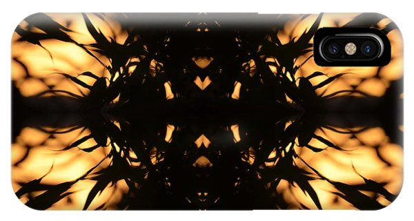 Dark Flame Of Nature IPhone Case
