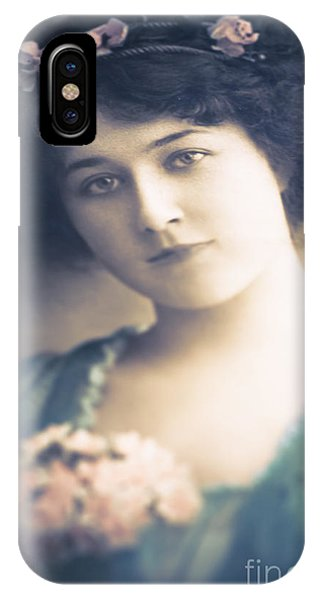 Tint iPhone Case - Dark Haired Beauty by Jan Bickerton