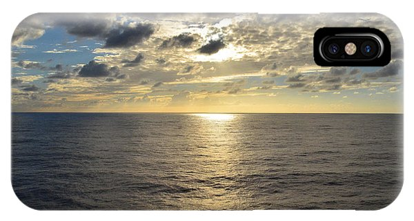 Dark Ocean Sunset 2 IPhone Case