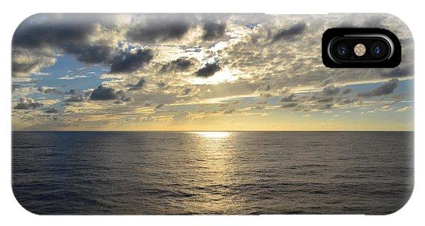 Dark Ocean Sunset IPhone Case