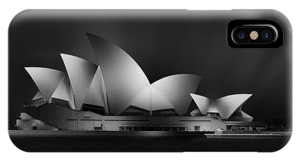 Futuristic iPhone Case - Dark Opera by Jose Antonio Parejo