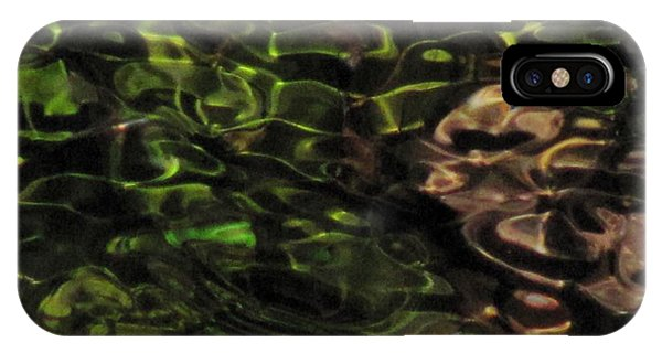 Dark Watery Green IPhone Case