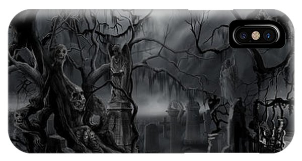 Darkness Has Crept In The Midnight Hour IPhone Case