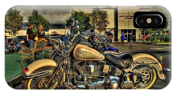 Darrell Keller Memorial Bike Rally IPhone Case