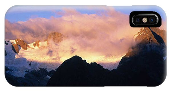 Rocky Mountain Np iPhone Case - Darren Mtns Fiordland National Park New by Panoramic Images