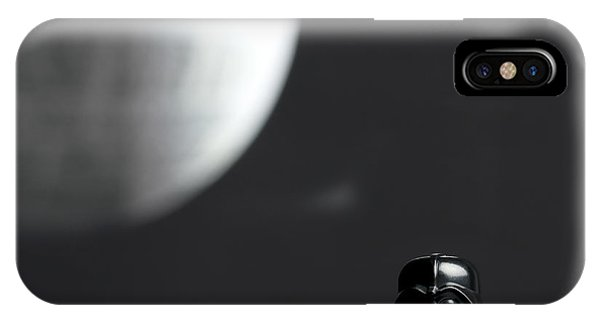 Death iPhone Case - Darth And His Death Star by Samuel Whitton