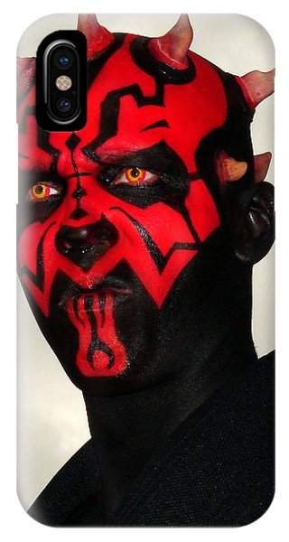 Darth Maul IPhone Case