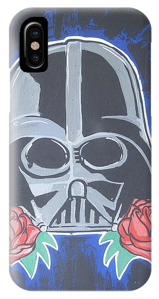Darth Vader Tattoo Art Phone Case by Gary Niles