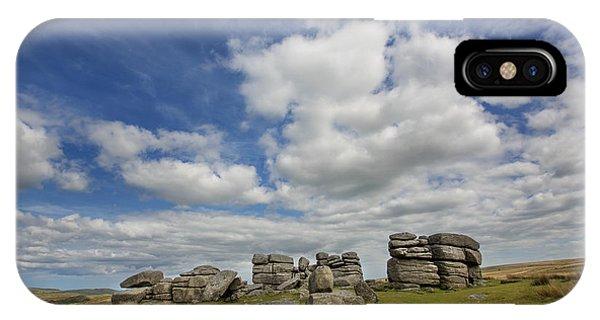 Dartmoor Tor IPhone Case