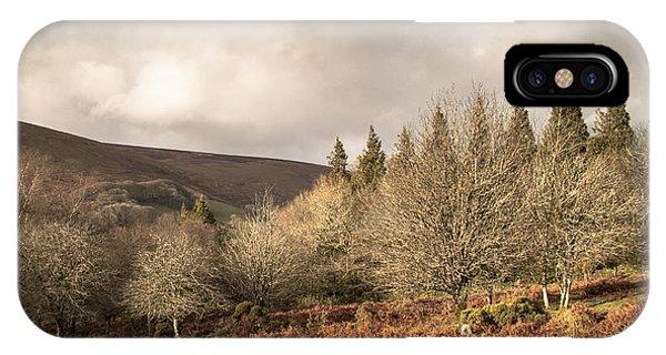 Upland iPhone Case - Dartmoor View by Jan Bickerton