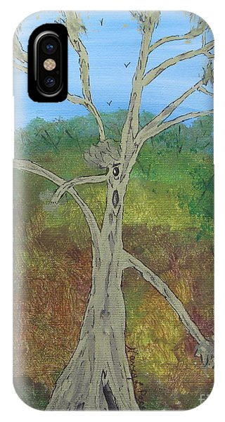 Dash The Running Tree IPhone Case