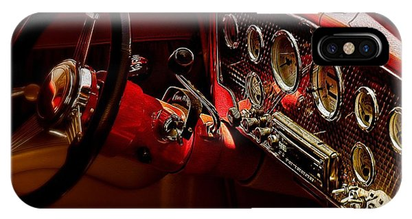 Dashboard Abstract IPhone Case