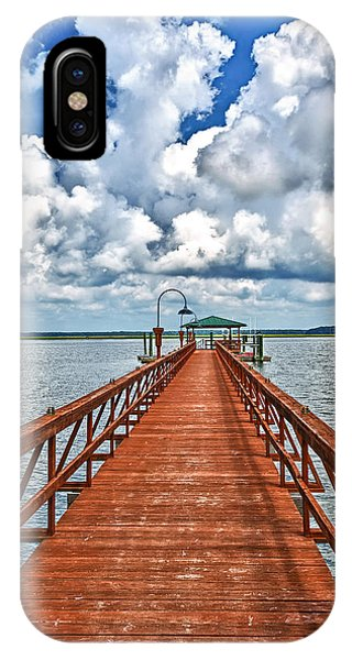 Daufuskie Pier IPhone Case