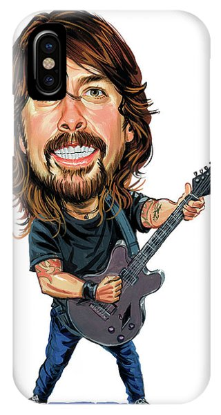 Superior iPhone Case - Dave Grohl by Art