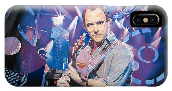 Dave Matthews And 2007 Lights IPhone Case